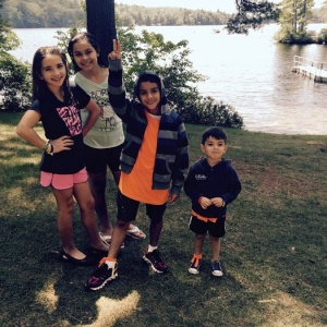 Tess Students - Summer Camp . Luisa , Sofia, Andrew, Henrique